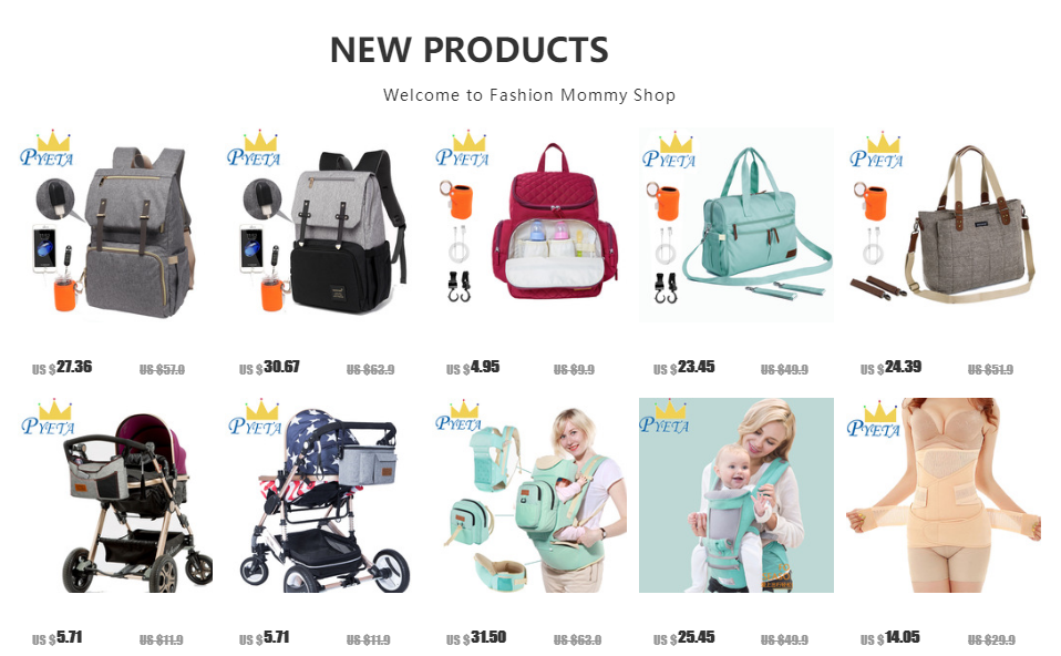 He9285a5433824b51a3e28f422e479c8cU Baby Diaper Bag with USB Port Waterproof Nappy Bag Mommy Backpack Laptop Bag Maternity Bags With Rechargeable Bottle Holder