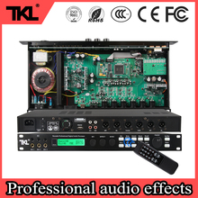 TKL professional processor stage performance professional 3 in 6 out digital audio processor built-in multiple effects processor