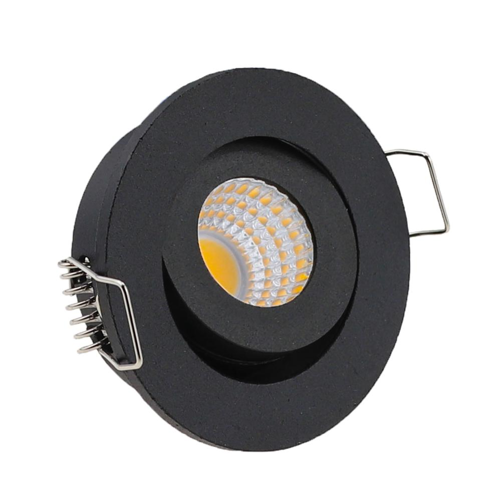 IP65 MINI Recessed LED Waterproof Dimmable COB Downlight Outdoor 3W AC90-260V/DC12V LED Ceiling Spot Light LED Ceiling Lights