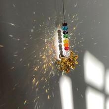 Crafts Wind-Bell Hanging-Ornaments Decoration Honeybee Chakra Wall-Window Home for Door