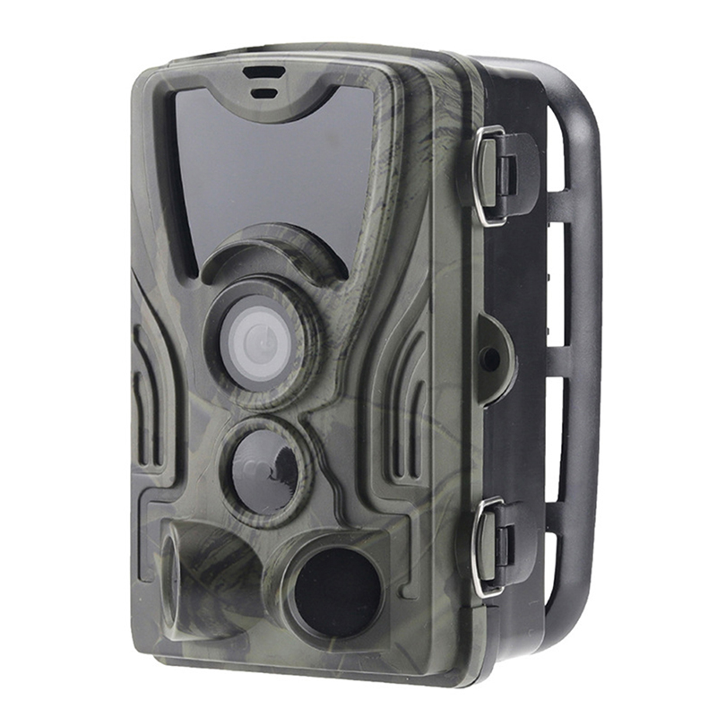 Hot 3C Hc801A Hunting Camera 16Mp Trail Camera Night Vision Forest Waterproof Wildlife Camera Photo Traps Camera Chasse Scouts|360° Video Camera| |  - title=