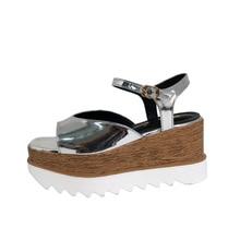 Vrouwen Sandalen Women Platform Wedges Shoes 8cm Woman's High Heels Sandals Casual Women Creepers Silver Platform Heels