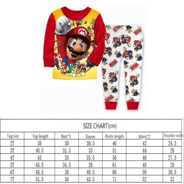 Cartoon Kids Nightwear Pajamas  6