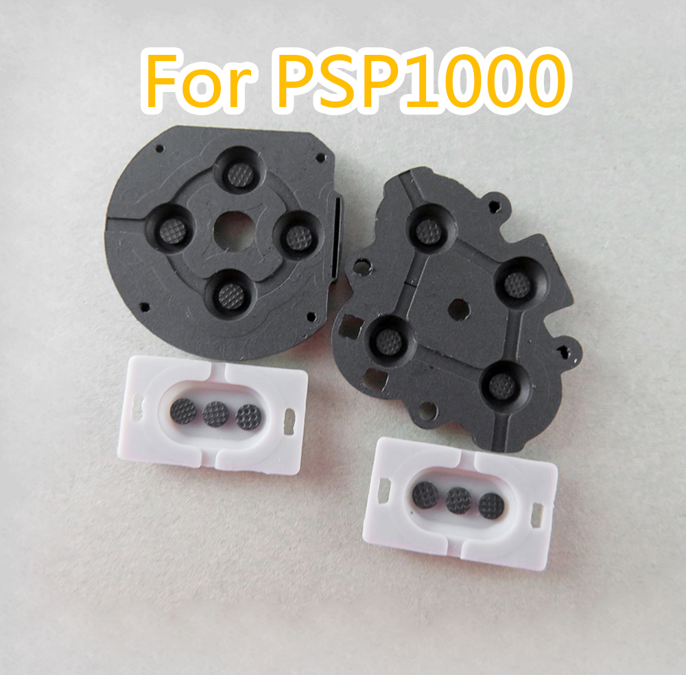 5sets Silicone Rubber Conductive Contact Button D-Pad Pads Repair For PSP1000 PSP 1000 Controller 5sets/lot