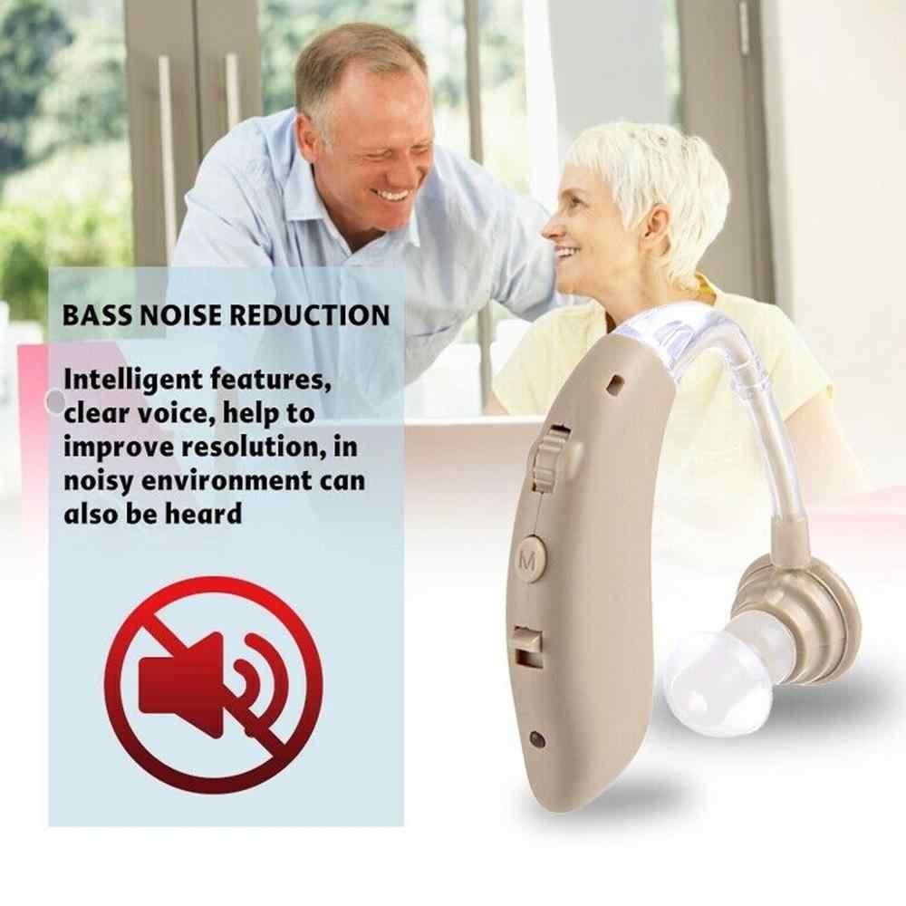 2020 ใหม่เครื่องช่วยฟังสำหรับผู้สูงอายุการได้ยินเสียงเครื่องขยายเสียงหูฟังเครื่องมือ 2 สีปรับเครื่องช่วยฟัง