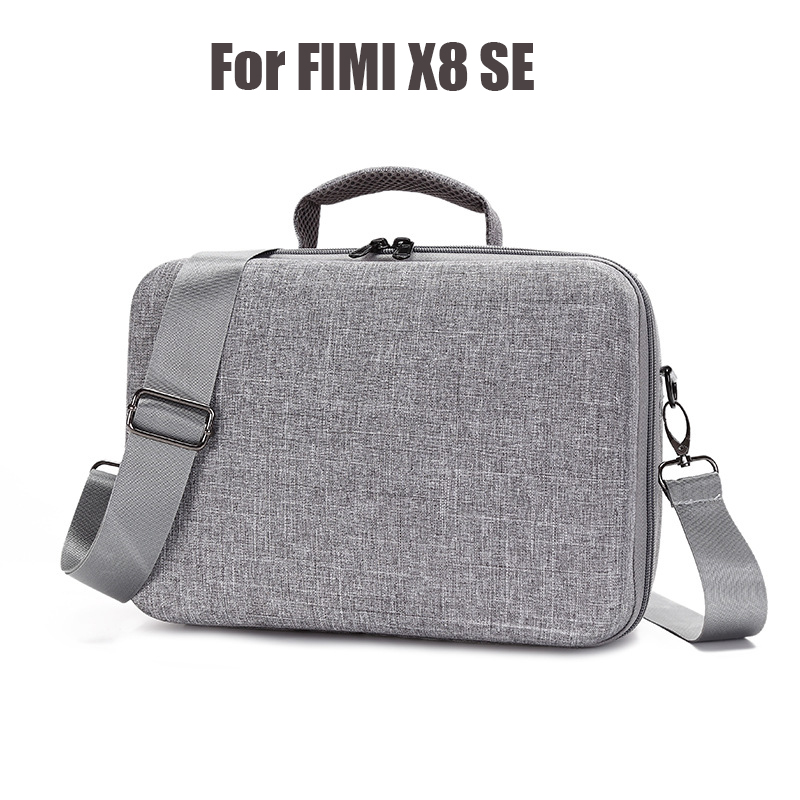 Portable Storage Bag for Xiaomi FIMI X8 SE Drone Hard EVA Carrying Case with Adjustable Shoulder Strap Handbag Water rppf Cover