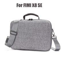 ポータブル収納袋 xiaomi FIMI X8 SE ドローンハード Eva ケースと調節可能なショルダーストラップハンドバッグ水 [rppf カバー
