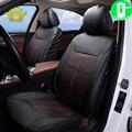 Чехлы для автомобильных сидений из экокожи  универсальные дышащие чехлы для защиты интерьера автомобиля
