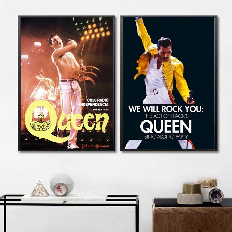 Bohemian Rhapsody Movie Art Silk Poster 12x18 24x36 24x43