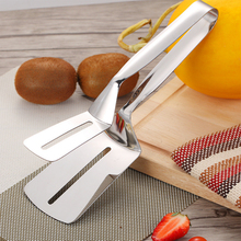 304 Stainless Steel Barbecue Tongs Fried Steak Shovel Fried Fish Spatula Shovel Meat Clips Bread Clamp Kitchen Tools Accessories barbecue clip bbq grill tongs shovel spatula bread meat fried food baking stainless steel ja55
