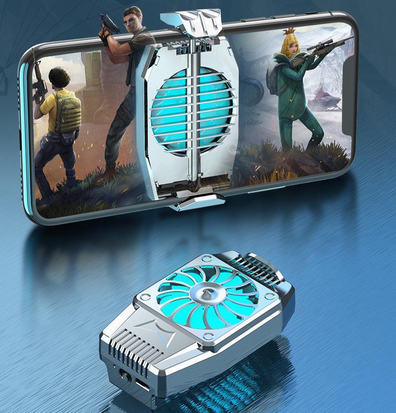H15 Phone Cooler Adjustable Mobile Cooler Radiator Heat Sink For Gamer Game Accessories
