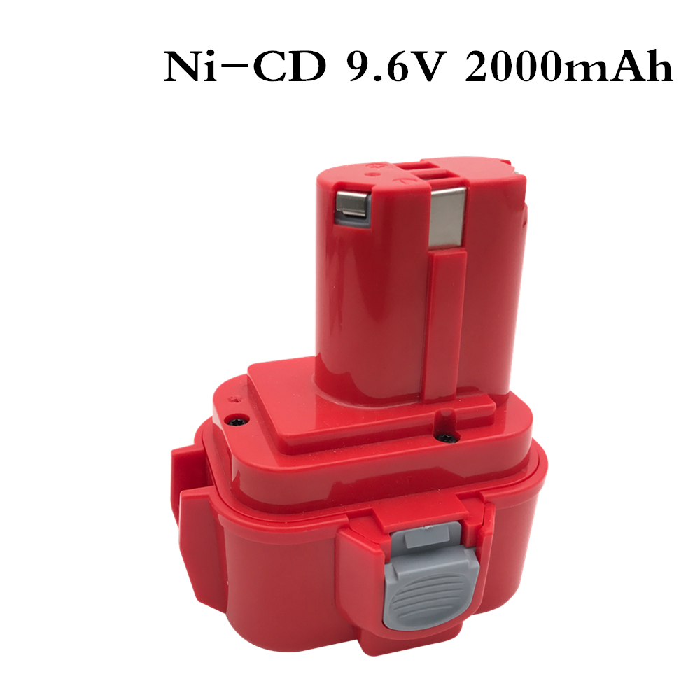 For <font><b>Makita</b></font> <font><b>9.6V</b></font> 2000mAh Ni-CD <font><b>Battery</b></font> Rechargeable <font><b>Battery</b></font> Pack Power Tools <font><b>Battery</b></font> Cordless Drill for <font><b>Makita</b></font> <font><b>9120</b></font> PA09 image