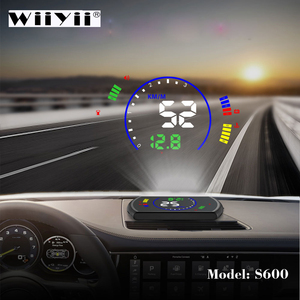 Image 1 - OBDHUD S600 car Head Up Display Car Speed Windshield Projector OBD Interface HUD RPM Voltage Water Temperature Fuel Cosumption