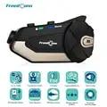 Freedconn R1 Motorfiets Intercom Helm Bluetooth Headset Intercom 1080P Hd Video Wifi Recorder Camera Intercomunicador