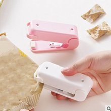 Portable Bag Clips Handheld Mini Electric Heat Sealing Machine Impulse Sealer Seal Packing Plastic Bag Work baterpak fkr 200a 300a 400a hand held impulse sealer ldpe plastic bag sealer kraft paper bag heat sealing machine
