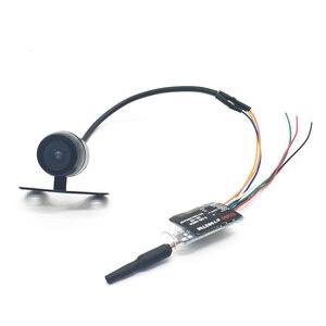 Image 2 - 5.8G 48CH VR005 2.7 inç 960*240 FPV gözlük ile 25/100/200mW verici başlatıcısı + Fpv Mini kelebek kamera FPV Drone için