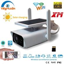Ip-Camera Solar-Energy Network WIFI CCTV Wireless-Surveillance-Cameras Waterproof Outdoor