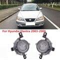 CAPQX для Hyundai Elantra 2003 2004 2005 2006 переднего бампера Туман светильник дневного светильник драйвер светодиодные лампы туман светильник противотум...
