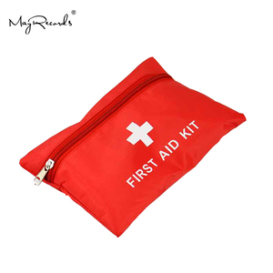 Image 4 - Su geçirmez Mini açık seyahat araba ilk yardım çantası ev küçük tıbbi kutu acil hayatta kalma kiti ev