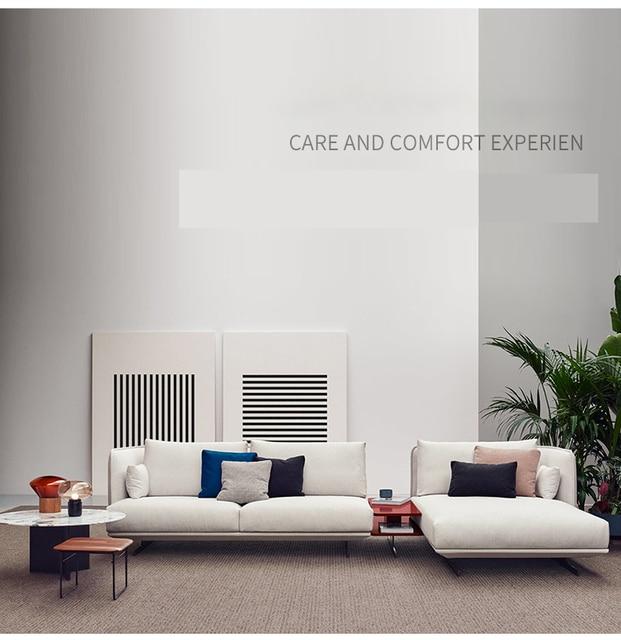 Nordic Fabric Living Room Sofa 4