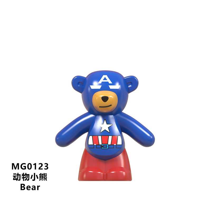 For Legoing Friends Animals Toys & Hobbies  Park World Kids Gift Simulation Toys Bear Collection Lover Toy For Children Legoings