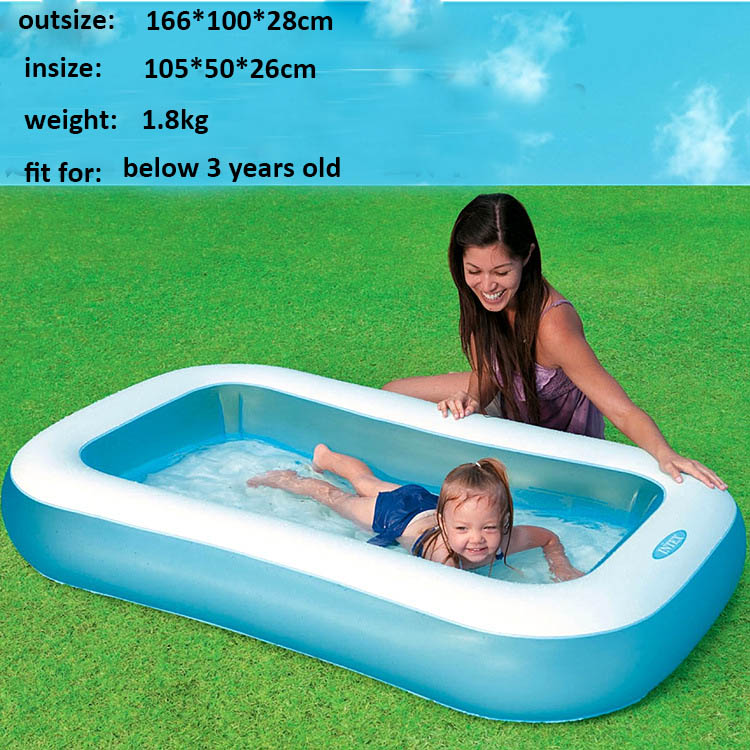 Swimming Pool For Kids Inflatable Pool Kids Piscina Hinchable Float Baby Pools Home Intex Swimming Pools Pvc Water Swimming Pool Swimming Pool Aliexpress