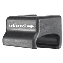 Hot ulanzi OA 8 adaptador de suporte de microfone para dji osmo caso gaiola de ação esportes câmera vlog sapato frio adaptador conversor estender m