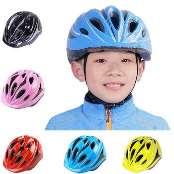Crianças do bebê capacete de ciclismo para crianças mtb bicicleta estrada capacete ultraleve eps 11 buracos 200g cabeça proteger casco ciclismo boné 1
