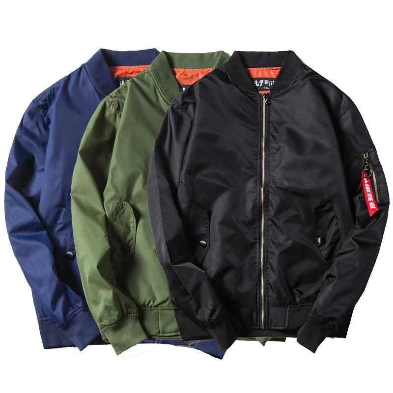 Men/'s Waterproof Zip Coats Bomber Jacket Army Military Motorcycle Outwear
