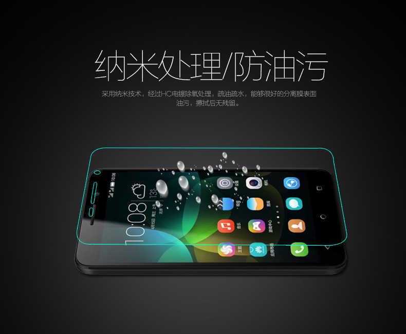 Protector de pantalla de película de vidrio templado frontal Original de 0,26mm para Huawei Enjoy 5 TIT-AL00 Play 5 Anti- explosión de la guardia