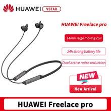 글로벌 버전 HUAWEI FreeLace Pro 스포츠 이어폰 낮은 대기 시간 오디오 최대 24 시간 재생 활성 잡음 제거