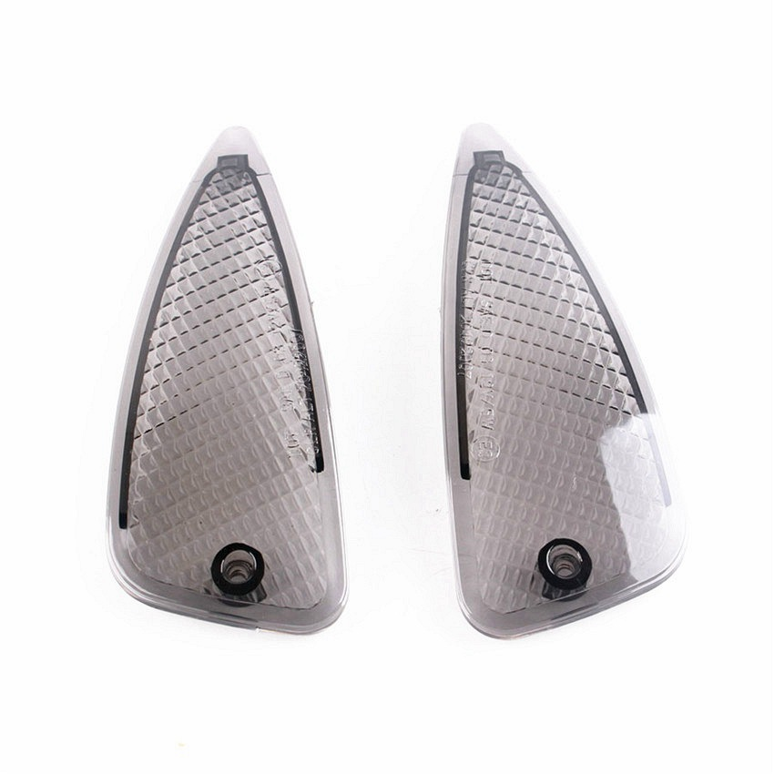 1 Pair Motorcycle Front Turn Signals Indicator Blinker Lens For BMW K1200RS 1997 1998 1999 2000 2001 Motor Accessories Smoke image
