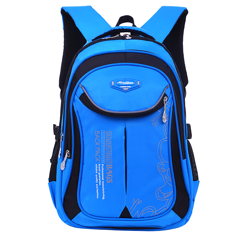 New Children School Backpacks Girl Boy Nylon Waterproof Kids Satchel Schoolbag Mochila Escolar  High Capacity Student Backpack