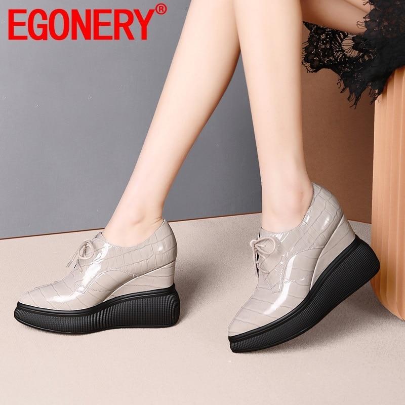 EGONERY spring new fashion women pumps