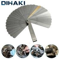 Dihaki 32in 1 medidor de espessura feeler calibre medidor de espessura metric gap filler 0.04 0.88mm ferramenta de medição dobrável de aço inoxidável|Medidor de folga| |  -