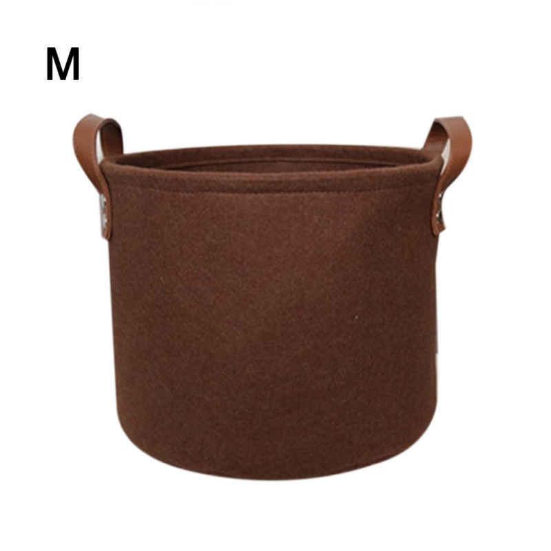Felt Storage Laundry Hamper Basket