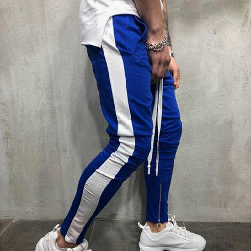 Men 2020 Joggers Fall 2020 New Han Edition Embroidery Mens Sweatpants Leisure Cultivate One's Morality Pants Men's Trousers