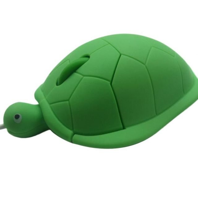 Cute Turtle Mouse Ergonomic Optical USB Wired Mice Funny Shape PC Computer Laptop Mouses 5