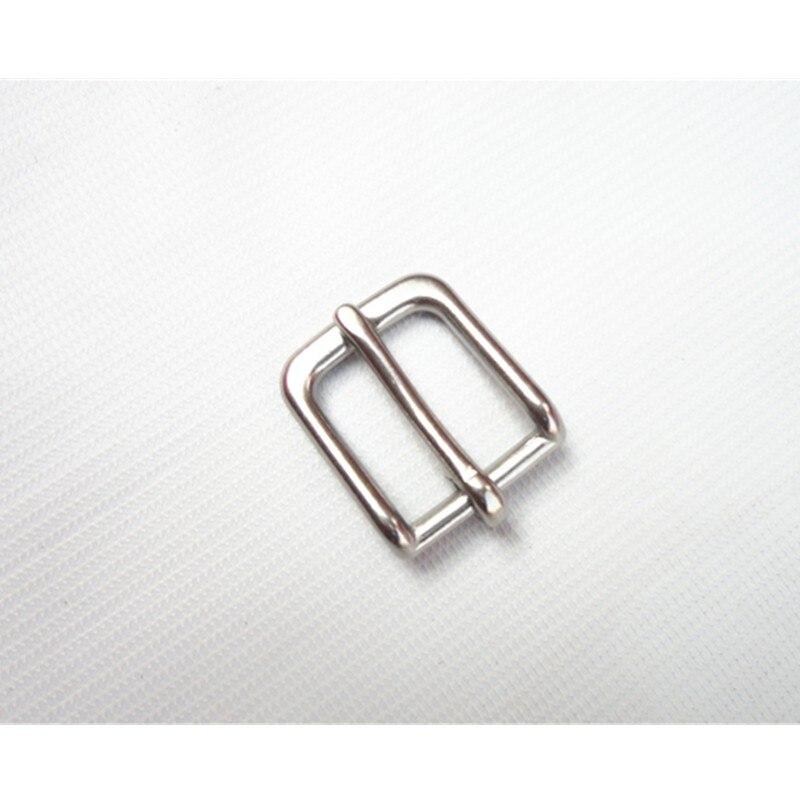 50Pcs/Lot Stainless Steel Pin Buckle Inside Width 24mm W020