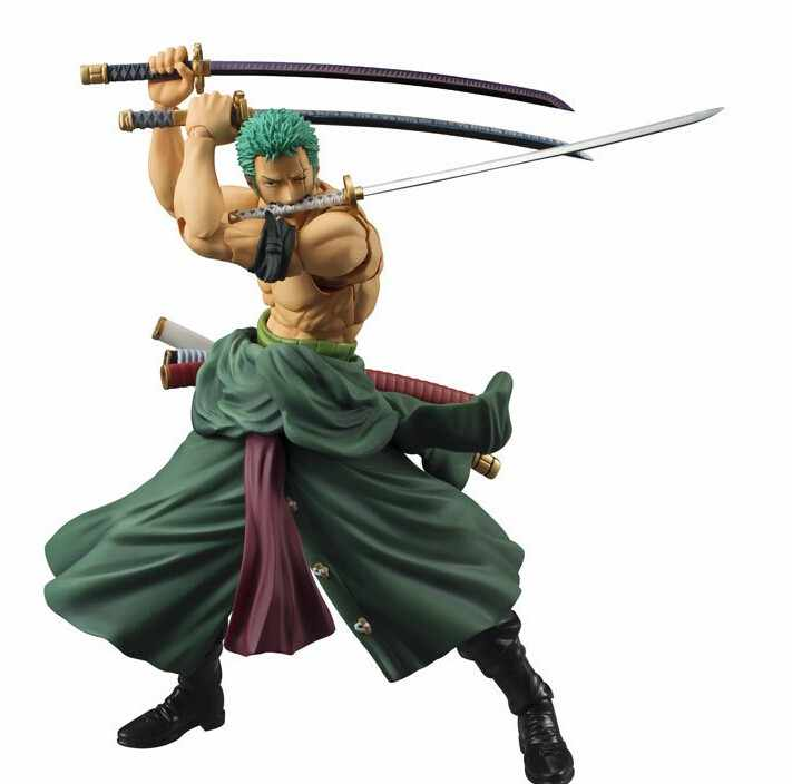 Anime One Piece Roronoa Zoro Past Blue Action Figure New in Box