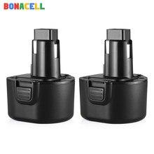 Bonacell bateria para Black & Decker 9.6V 3500mAh PS120 BTP1056 A9251 PS120 PS310 PS3350 CD9600