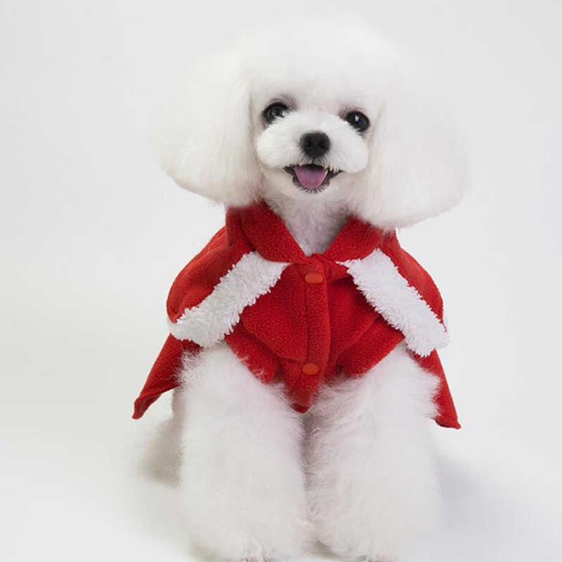2020 따뜻한 강아지 크리스마스 옷 웨딩 드레스와 코트 강아지 의류 작은 개를위한 애완 동물 옷 요크셔 테리어 치와와