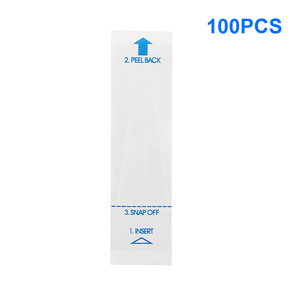 100pcs Disposable Thermometer Probe Cover Oral Armpit Rectum Electronic Thermometer Universal Covers