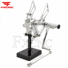 Footpeg Adjustable Rearset Kawasaki Zx7r Motorcycle Aluminum for 1996-2003 High-Quality