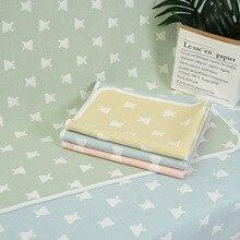 Children's Diaper Pad Baby Diaper Pad Waterproof Sheet Baby Washable Gauze Breathable Diaper Pad 50*70cm Yellow