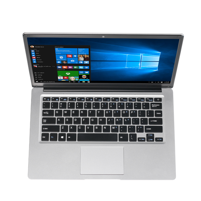 AKPAD 14inch Intel Celeron CPU Ultrathin Laptop Win10 System Dual Band WIFI 1366*768P FHD IPS Screen Notebook Computer PC