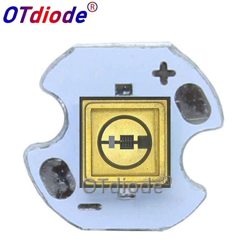 1PCS UVC LED Diode 3535 275nm Lamp SMD Beads For UV Disinfection Equipment 265nm 285nm 310nm Deep Violet Ultraviolet Light 6V