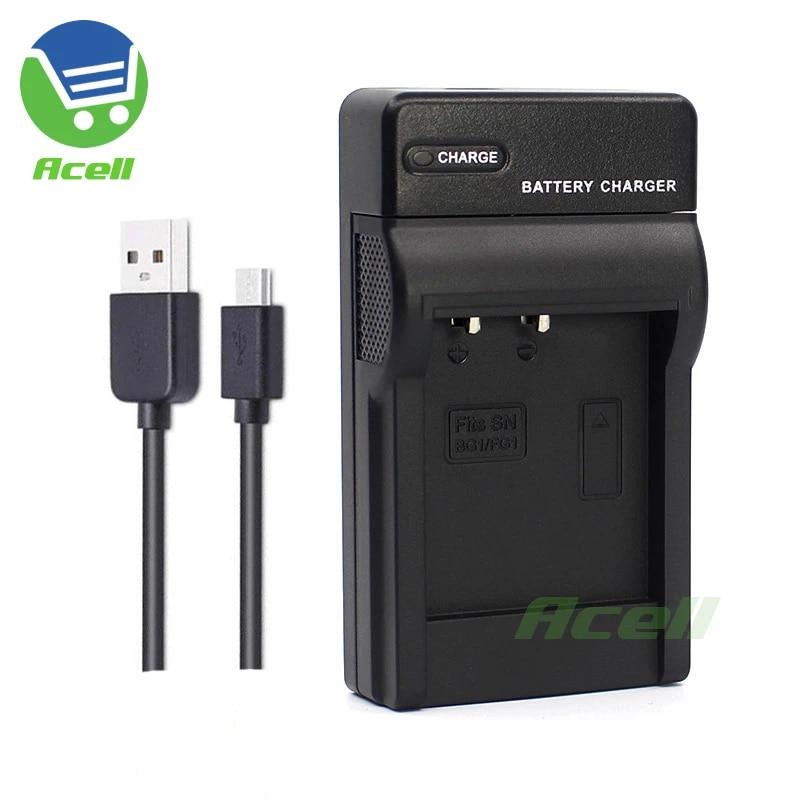 Micro-USB Cargador para Sony Cybershot DSC-W170//W200//W210