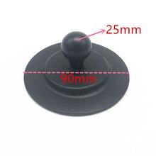 ラウンドプレート 3 メートル吸引カップ 1 インチゴムボールマウント車のダッシュボード吸引カップと粘着テープステッカー移動プロ GPS Ram マウント