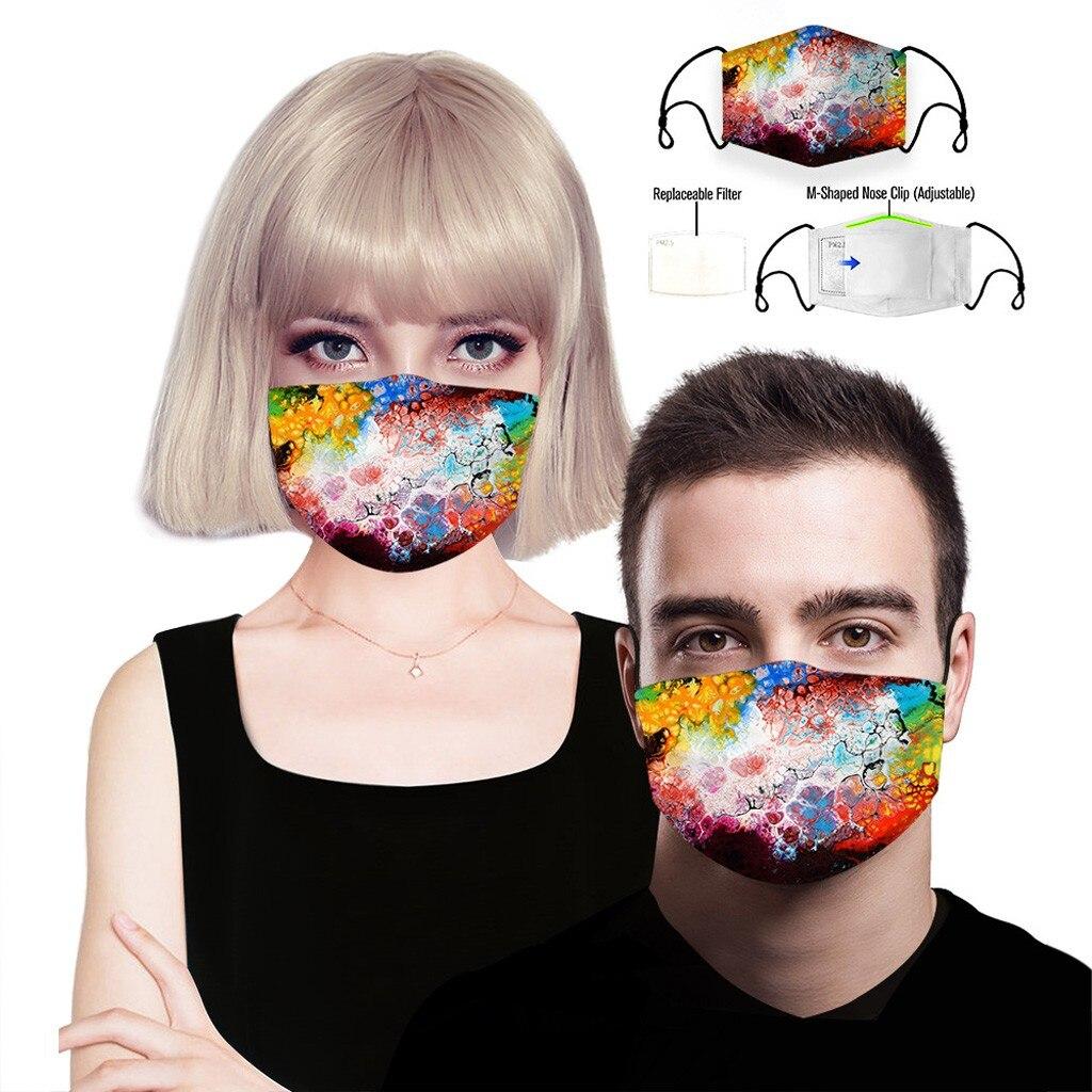 He92e8b210f884db6ac8d7654868d377b7 adult facemask flower print adjustable cotton maske mondkapje maska tapabocas dropshipping